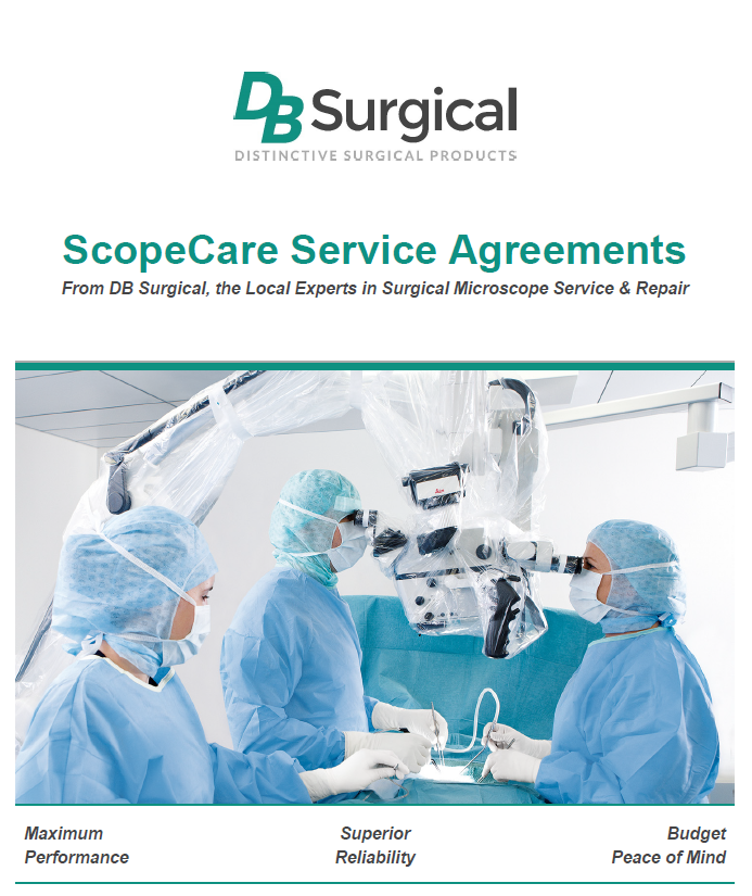 Service & Repair   Surgical Microscopes   DB Surgical